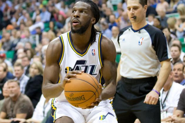 Utah Jazz: 'Junkyard Dog' DeMarre Carroll Breaks Rim