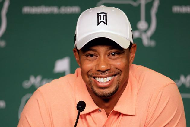 Masters: Tiger Woods 'Feels Comfortable with Every Aspect'