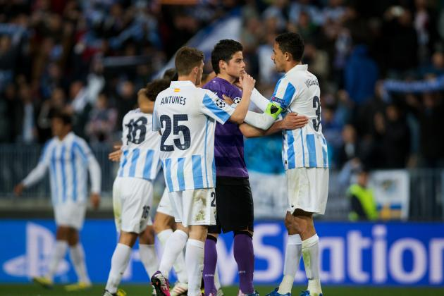 Malaga Announces Lineup for UCL Clash
