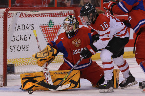 Jayna Hefford Plays in 250th Game as Canada Moves on to Gold Medal Game
