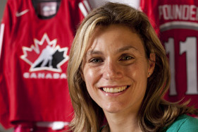 Cheryl Pounder Establishing Herself as Best Color Commentator in Women's Hockey