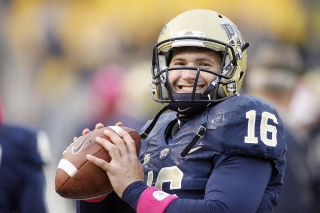 Redshirt Freshman QB Quickly Learning at Pitt