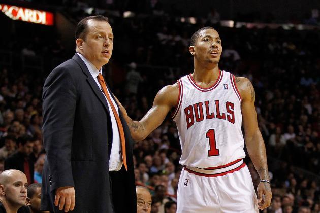 Thibodeau Denies Any Rift Between Bulls, Derrick Rose