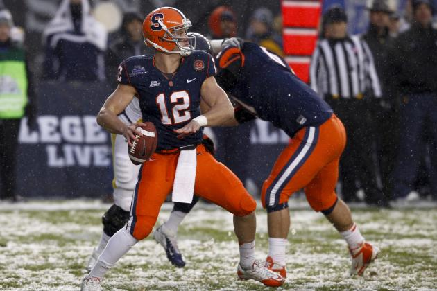 Ryan Nassib Scouting Report: NFL Outlook for Syracuse QB