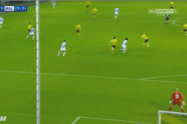 Dortmund's Sweet Pass and Goal
