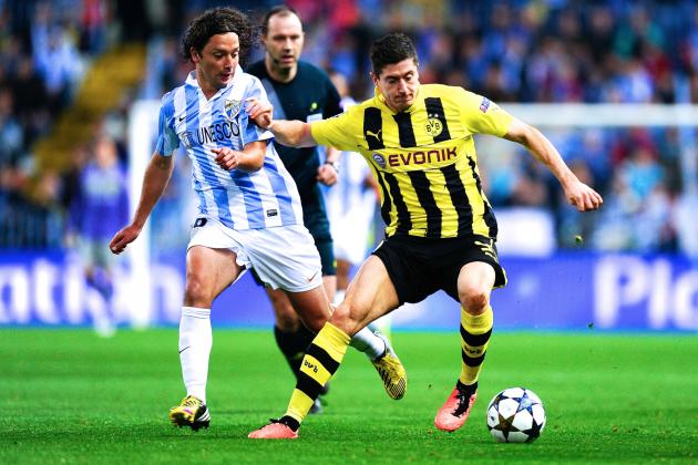 Borussia Dortmund vs. Malaga: Champions League Quarterfinal 2nd Leg Live Score