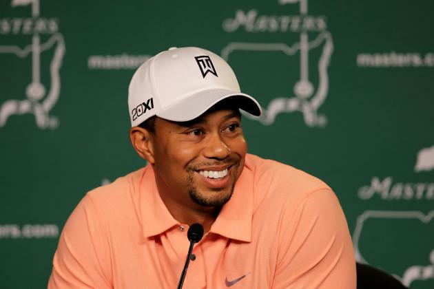 2013 Masters: What Tiger Woods Will Be Wearing
