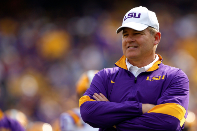 What Les Miles' Positive Approach to Early Departures Really Says about LSU