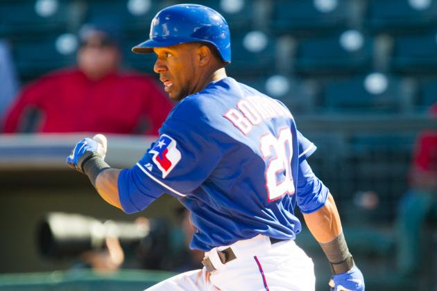 Rangers Designate Julio Borbon for Assignment