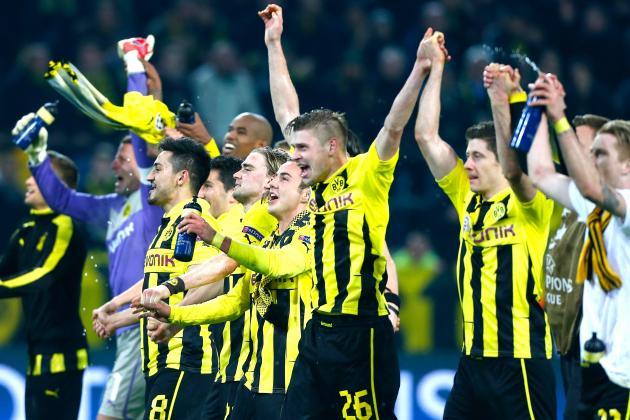 Borussia Dortmund's Dramatic Comeback Against Malaga Proves They Can Win It All