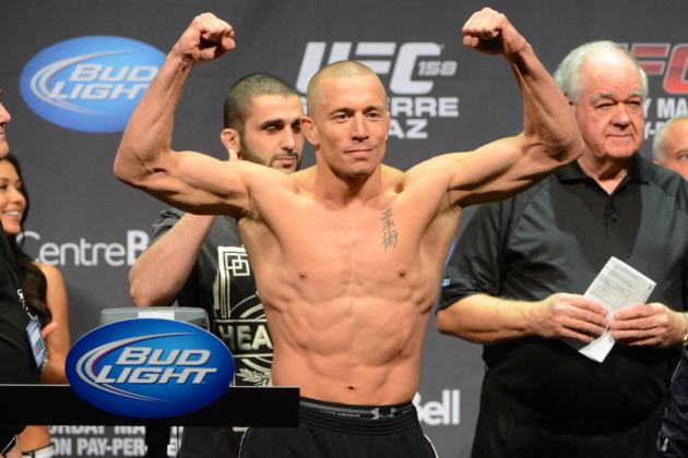 GSP to Johny Hendricks: 'I'm Training Already, I'm Training All the Time'