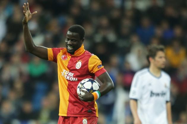Galatasaray vs. Real Madrid: Watch Emmanuel Eboue's Champions League Wonder Goal