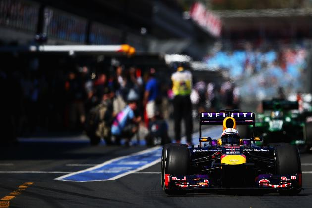 Video of 2.05-Second Pit Stop That Red Bull Racing Claims Is F1 Record