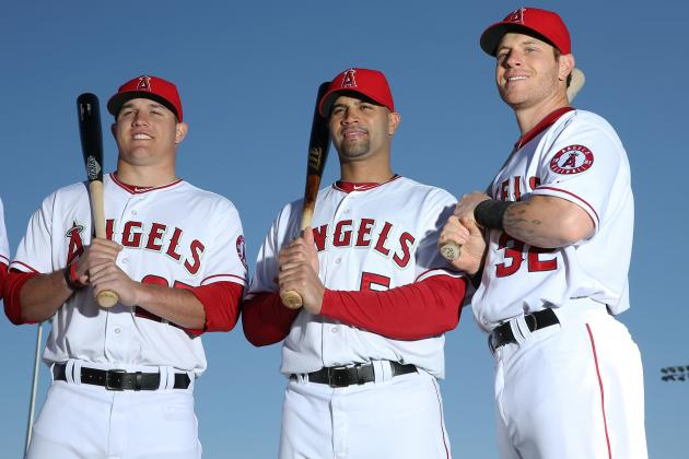 Can Trout-Pujols-Hamilton Carry the Angels with Jered Weaver Injured?