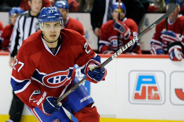 Erat, Ward out for Caps; Bourque Returns for Habs
