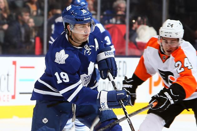 Leafs' Lupul to Miss Third Straight Game with 'Upper-Body Njury'