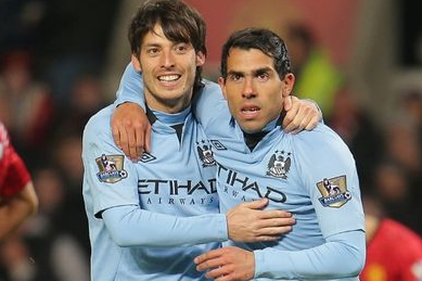 David Silva Backs Mancini's 'Wait Until Next Year' Title Vow