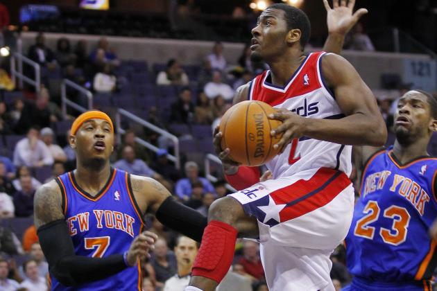 NBA Gamecast: Wizards vs. Knicks