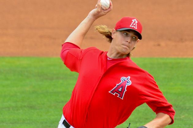 Garrett Richards to Replace Jered Weaver in Angels' Rotation