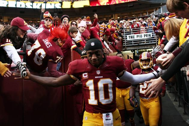 Robert Griffin III: Jersey Sales Record Magnifies Pressure on RG3 to Succeed