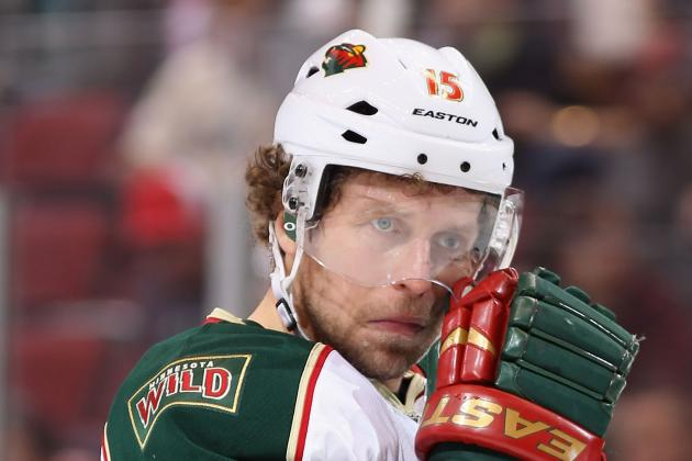 Minnesota's Heatley (shoulder) Done for Year, Including Playoffs