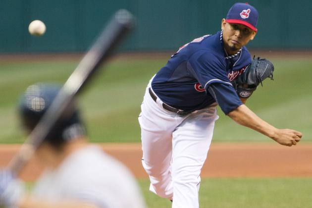 Indians' Carlos Carrasco Returns from Suspension, Gets Ejected