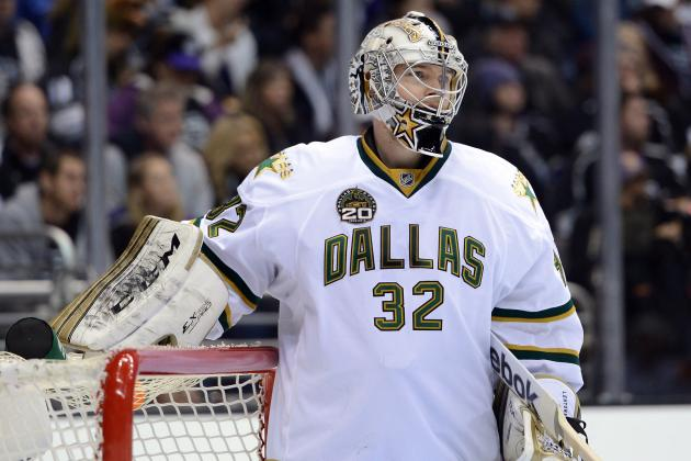 Lehtonen Questionable to Return vs. Kings