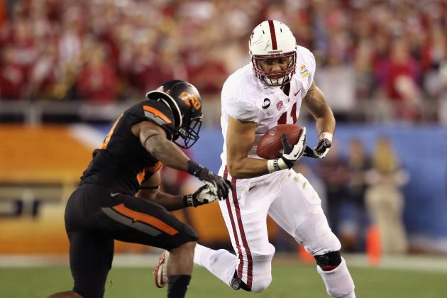 2013 Atlanta Falcons Potential Draft Pick Profile: TE Levine Toilolo