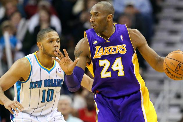 NBA Gamecast: Hornets vs. Lakers