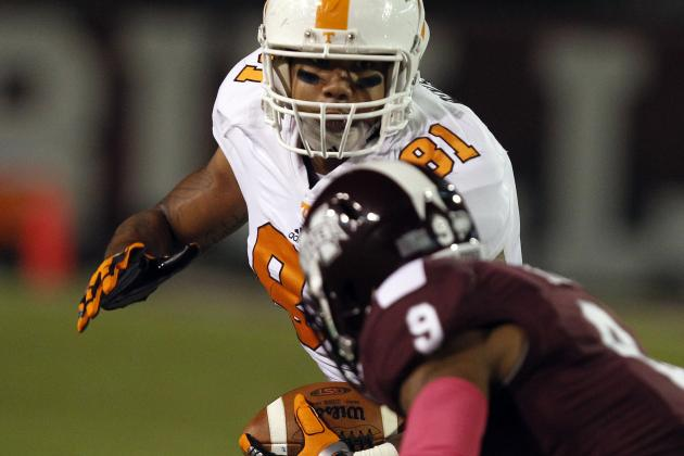 Mychal Rivera Scouting Report: NFL Outlook for Tennessee TE