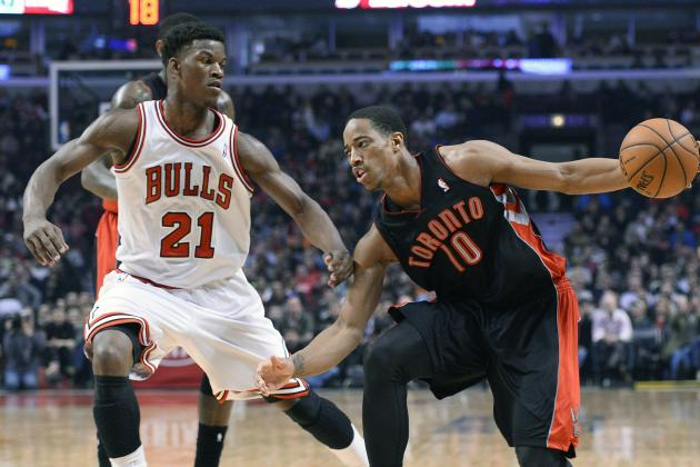 DeRozan Helps Raptors Hold off Bulls 101-98