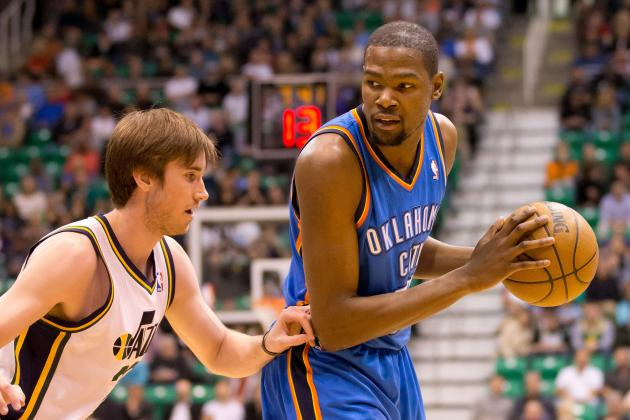 Russell Westbrook, Kevin Durant Lead OKC Thunder over Utah Jazz