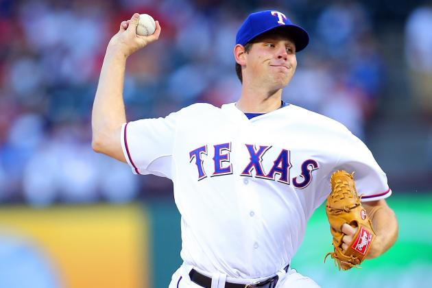 Tepesch Shines in Debut as Rangers Top Rays 6-1