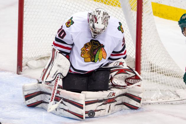 Emery, Blackhawks Shut out Wild