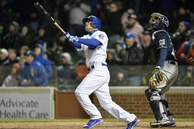 Hairston, DeJesus Help Cubs Beat Brewers