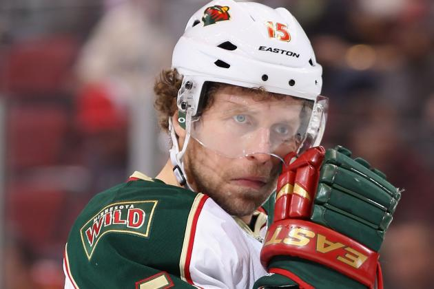 Minnesota Wild: Dany Heatley Out for Rest of Regular Season