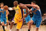 Lakers Keep Playoff Hopes Alive with Win Over Hornets
