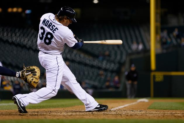 Second Game in Reconfigured Safeco Features Eight Homers