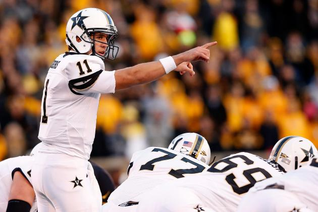 Jordan Rodgers Scouting Report: NFL Outlook for Vanderbilt QB