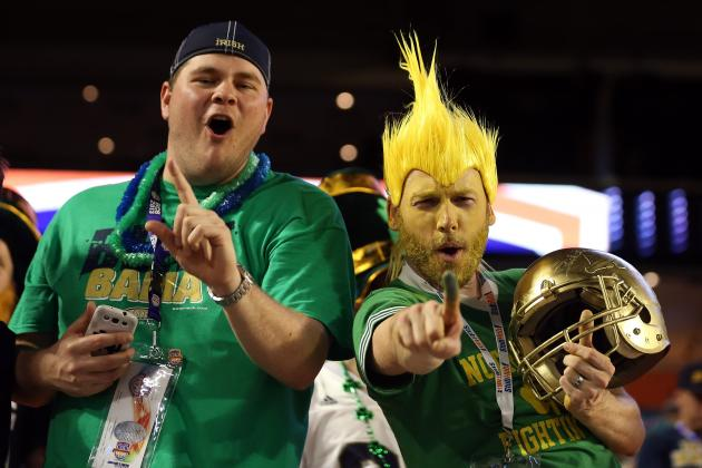 Notre Dame vs. Florida State Reportedly Set for 2014 College Football Season