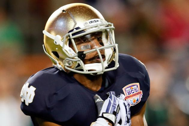 Ex Notre Dame WR Davonte' Neal Reportedly Will Transfer to Arizona