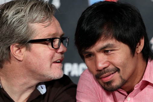Roach: Marquez Wants Just About a 50-50 Split with Pacquiao