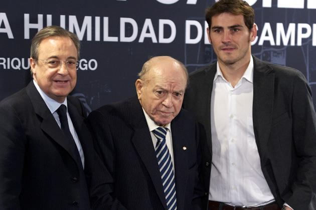 Real Madrid Great Alfredo Di Stefano, 86, Admitted to Hospital