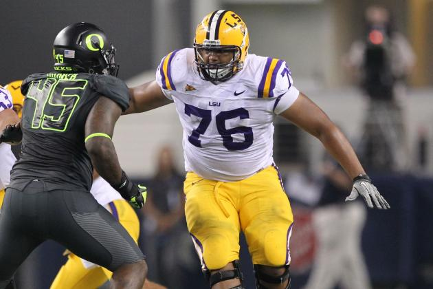 Report: LSU Offensive Lineman Chris Faulk Visits Patriots