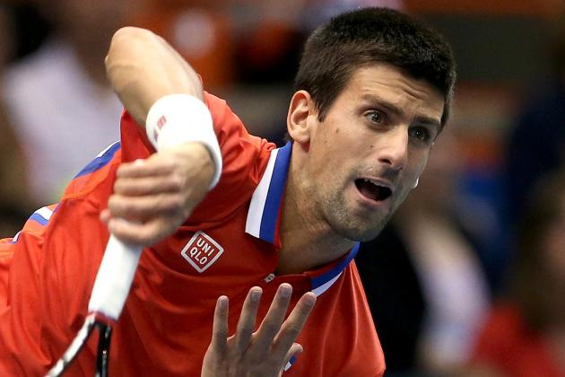 Novak Djokovic Avoids Serious Ankle Injury but Will Need Time to Heal