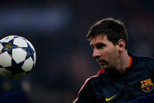 Messi Still in Doubt Before PSG Clash