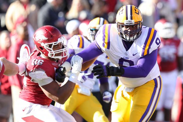 Ferguson, Johnson Man the Middle for LSU