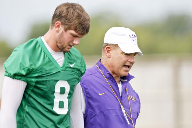 Mettenberger Says Offense Is Showing Progress