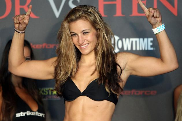 UFC's Miesha Tate on TUF 18: It Would Be Funny If 'All the Girls' Were Lesbians