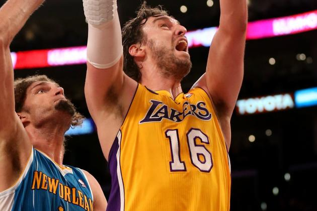 A Fully Utilized Pau Gasol Is Peaking at the Right Time